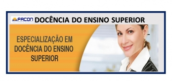 Docência do Ensino Superior  450 horas